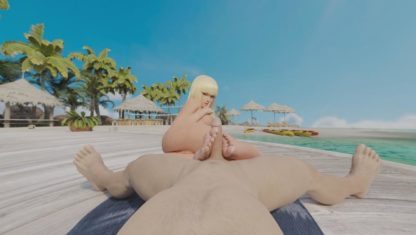 elferan vr porn video cgi 3d porn Tekken-Lili-Rochefort-Footjob