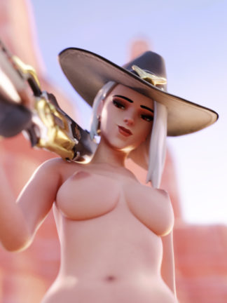ashe from overwatch animated sex scene vr
