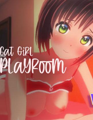 cat girl playroom vr hentai game thumbnail image