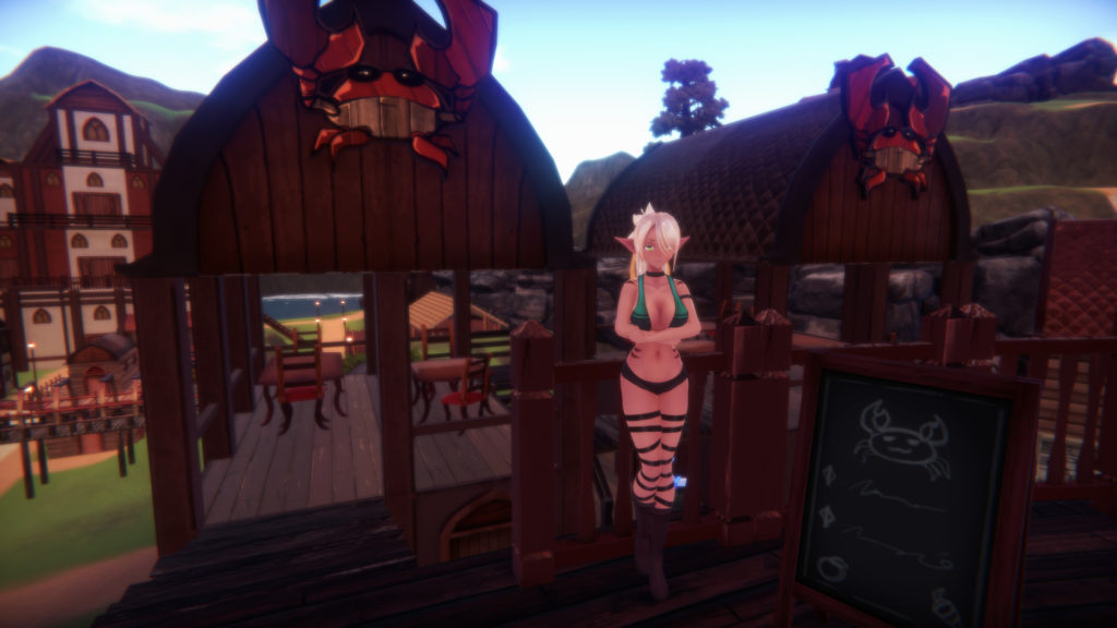 Monster Girl Island VR Porn Game Graphics
